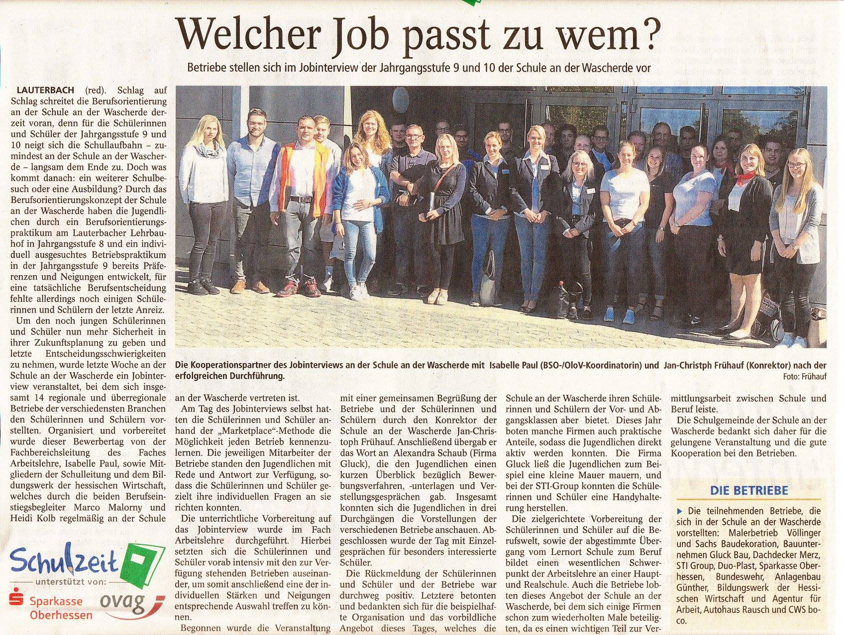 SaW Pressetext Jobinterview 2018x